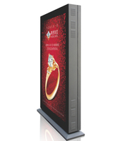 Floor standing LED advertising player